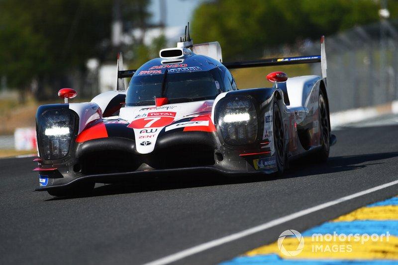 LMP1: #7 Toyota Gazoo Racing, Toyota TS050 Hybrid