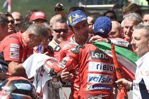 Yarış galibi Danilo Petrucci, Ducati Team, 3. Andrea Dovizioso, Ducati Team