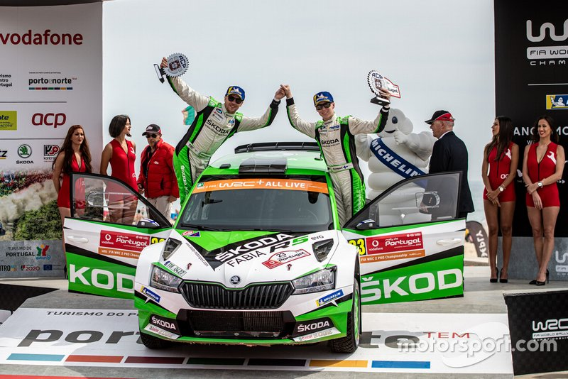 WRC2 Pro, pilotos: Kalle Rovanperä y Jonne Halttunen