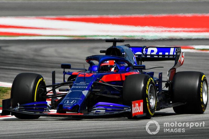 10 місце — Данііл Квят, Toro Rosso. Умовний бал — 10,85