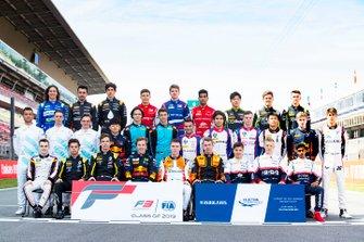FIA Formula 3 class photo 2019