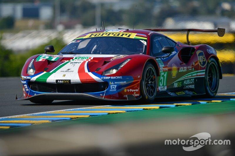GTE-Pro: #51 AF Corse, Ferrari 488 GTE Evo