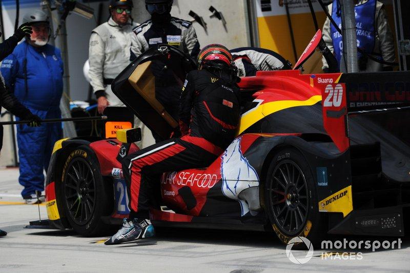 #20 High Class Racing Oreca 07: Anders Fjordbach, Dennis Andersen, Mathias Beche