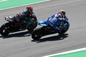 Álex Rins, Team Suzuki MotoGP, Fabio Quartararo, Petronas Yamaha SRT