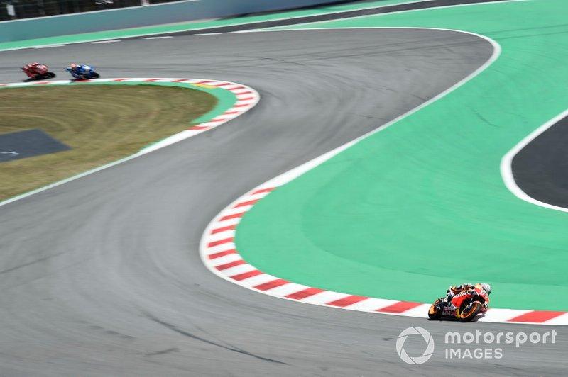 В этом сезоне Маркес лидировал в каждой из семи гонок. В качестве лидера он провел 111 кругов (или 67% от всей дистанции)