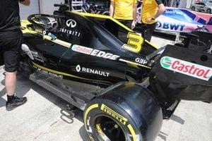 Renault R.S. 19, parte posteriore