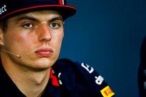 Max Verstappen, Red Bull Racing, en conférence de presse