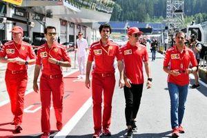 Jock Clear, Ferrari, Charles Leclerc, Ferrari