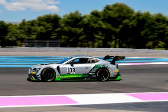 #108 Bentley Team M-Sport Bentley Continental GT3: Callum MacLeod, Andy Soucek, Maxime Soulet