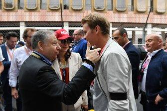 Jean Todt, President, FIA, with Nico Rosberg