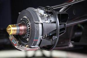 Detalle técnico de los frenos del Red Bull