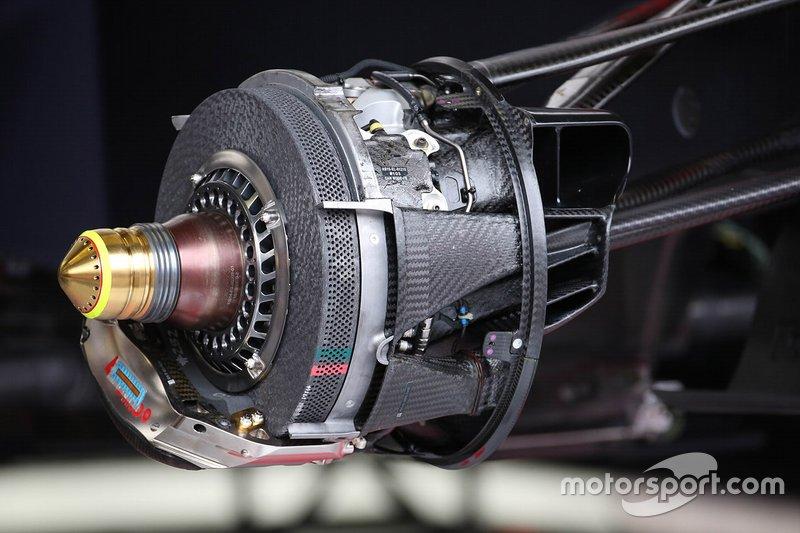 Red Bull brakes technical detail