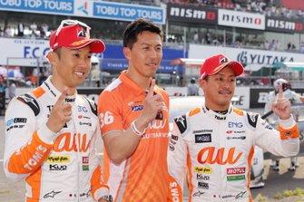 GT500 race winners #36 Team Tom's Lexus LC500: Yuhi Sekiguchi, Kazuki Nakajima