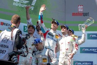 Winner #4 Audi Sport Team Phoenix Audi R8 LMS: Pierre Kaffer, Frank Stippler, Frédéric Vervisch, Dries Vanthoor
