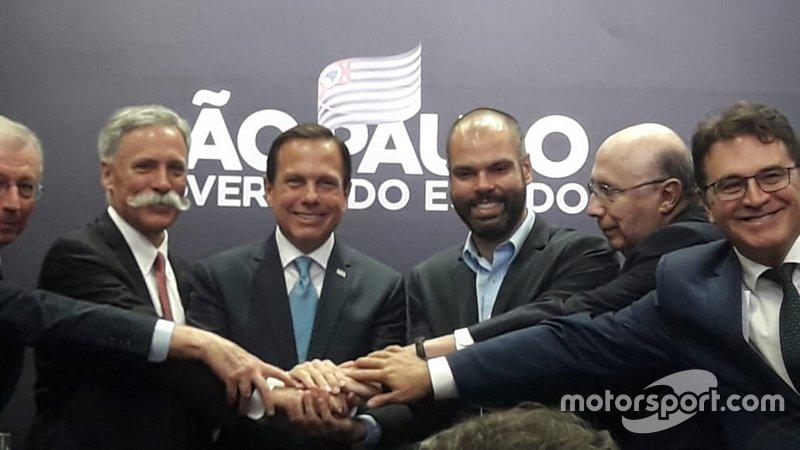Do outro lado, o prefeito de São Paulo, Bruno Covas e o governador, João Doria, apostam na manutenção de Interlagos como sede do GP do Brasil.