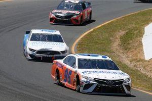 Matt DiBenedetto, Leavine Family Racing, Toyota Camry Procore Thanks DW Throwback