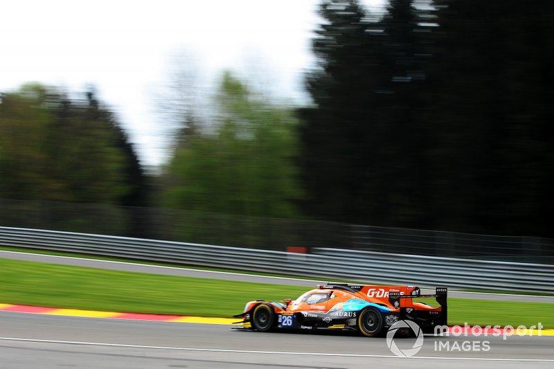 #26 G-Drive Racing Aurus 01 - Gibson: Roman Rusinov, Job Van Uitert, Jean-Eric Vergne