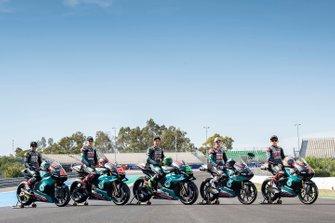Team Petronas, Pawi, Fabio Quartararo, Petronas Yamaha SRT, Franco Morbidelli, Petronas Yamaha SRT, McPhee, Sasaki