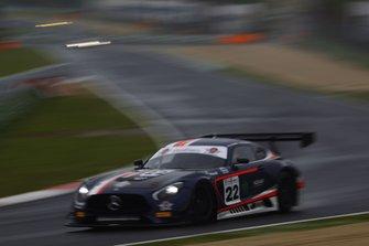 #22 Mercedes AMG GT3-GT3 PRO AM, Antonelli Motorsport: Rovera-Agostini
