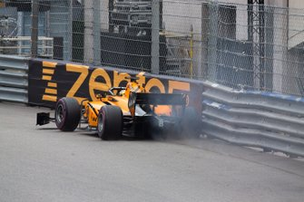 Dorian Boccolacci, Campos Racing hits the barrier