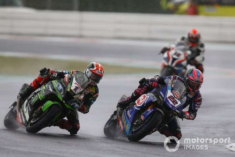 Jonathan Rea, Kawasaki Racing Team, Alex Lowes, Pata Yamaha