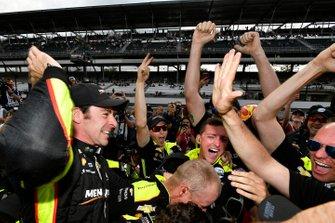 El poleman, Simon Pagenaud, Team Penske Chevrolet