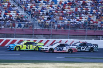 Paul Menard, Wood Brothers Racing, Ford Mustang Menards / Knauf Corey LaJoie, Go FAS Racing, Ford Mustang Freedom Hard