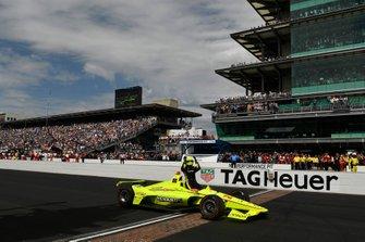 Ganador Simon Pagenaud, Team Penske Chevrolet
