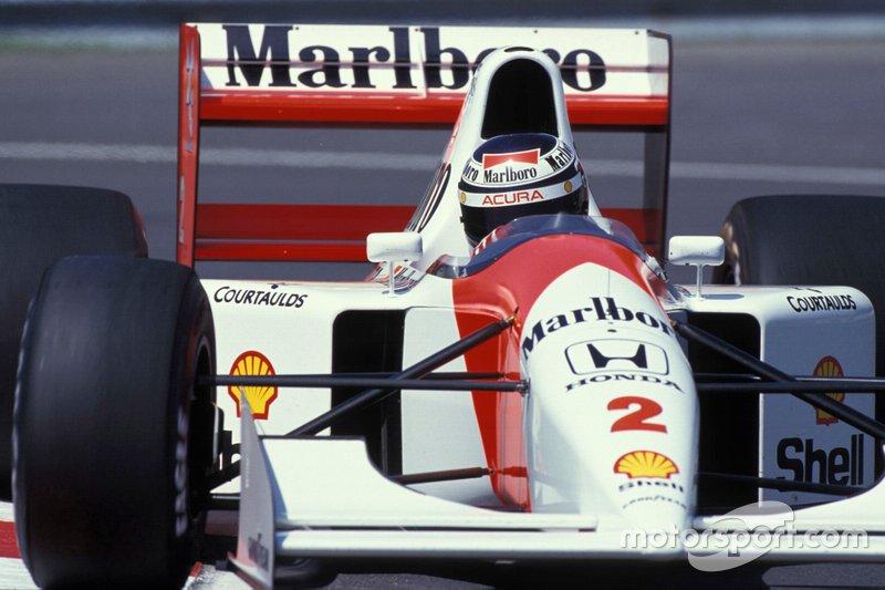Gerhard Berger - McLaren MP4-7A-Honda - GP de Canadá de 1992