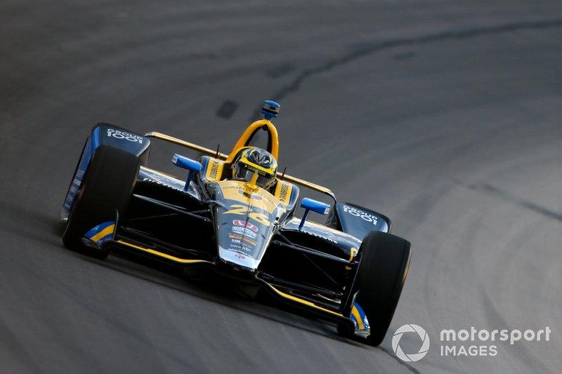 7. Zach Veach, Andretti Autosport Honda