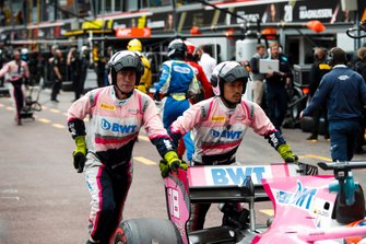 Tatiana Calderon, Arden in pit lane