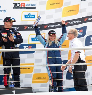 Podium: Jessica Bäckman, Target Competition Hyundai i30 N TCR
