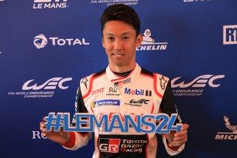 #8 Toyota Gazoo Racing Toyota TS050: Kazuki Nakajima