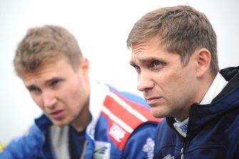 Гонщики SMP Racing Сергей Сироткин и Виталий Петров