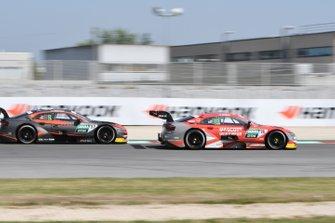 Jonathan Aberdein, WRT Team Audi Sport, Audi RS 5 DTM e Loic Duval, Audi Sport Team Phoenix, Audi RS 5 DTM