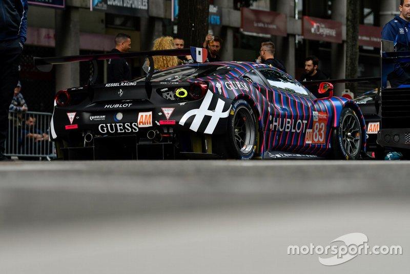 #83 Kessel Racing Ferrari 488 GTE