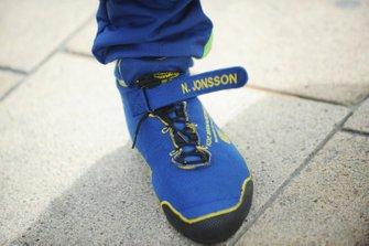Гоночные ботинки Ника Йонссона, Eurasia Motorsport