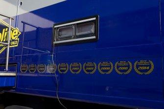 Ten Kate Yamaha race trucks