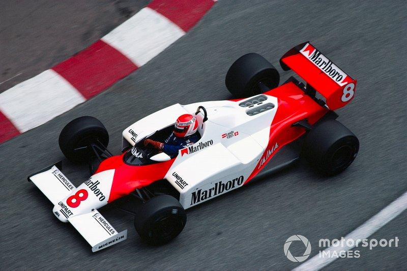 3. Niki Lauda, McLaren: del 23º al 2º en el GP de EE UU Oeste 1983