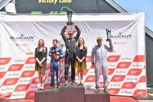 #53, Mercedes-AMG GT4, Matthew Fassnacht, #18 McLaren 570S GT4 Jarett Andretti, #12 Ford Mustang GT4 Drew Staveley