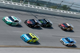 Joey Logano, Team Penske, Ford Mustang MoneyLion Ryan Blaney, Team Penske, Ford Mustang Menards/Knauf