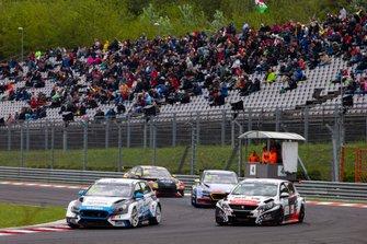 Dušan Borkovic, Target Competition Hyundai i30 N TCR, Aurélien Comte, DG Sport Compétition Peugeot 308 TCR