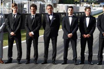 Fabio Quartararo, Franco Morbidelli, Valentino Rossi, Maverick Vinales, Cal Crutchlow
