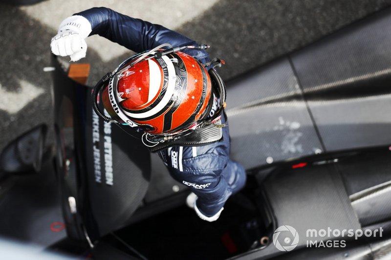 Race winner #11 Eurointernational Ligier JS P3 Nissan: Mikkel Jensen