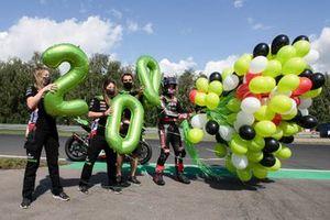 200. WSBK-Podium für Jonathan Rea, Kawasaki Racing Team WorldSBK