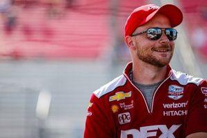 Scott McLaughlin, Team Penske Chevrolet crew member Ben Maser