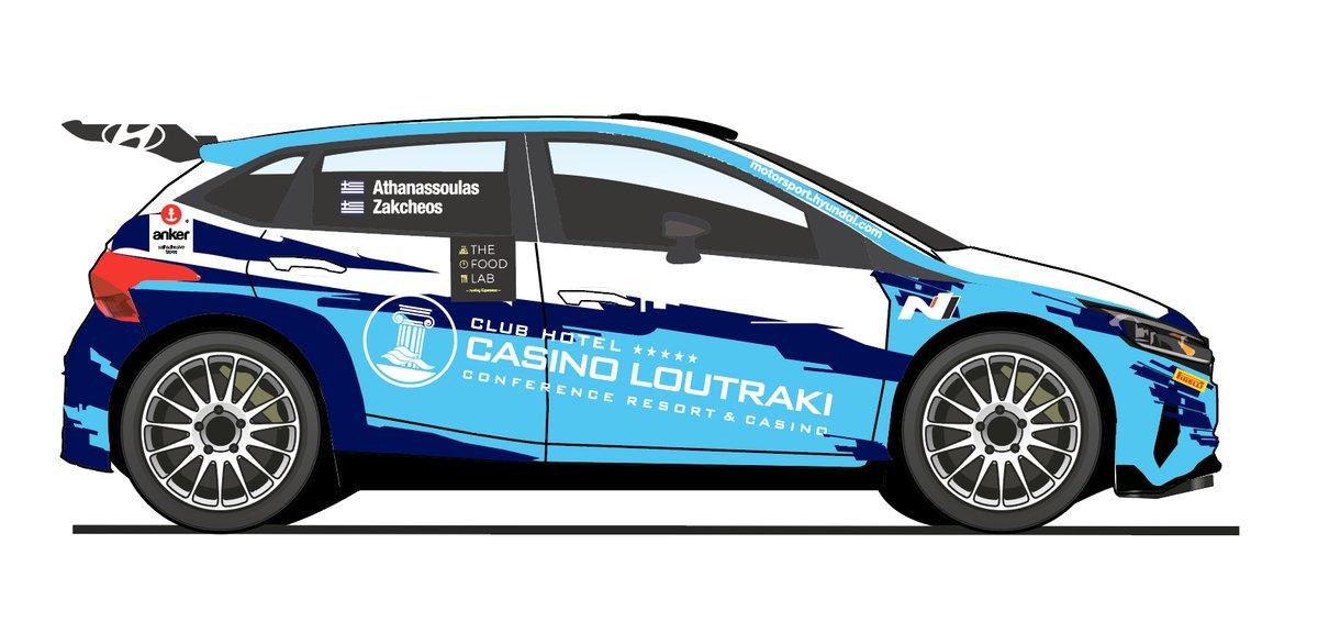 Lambros Athanassoulas, Nikolaos Zakheos, Hyundai i20 N Rally2