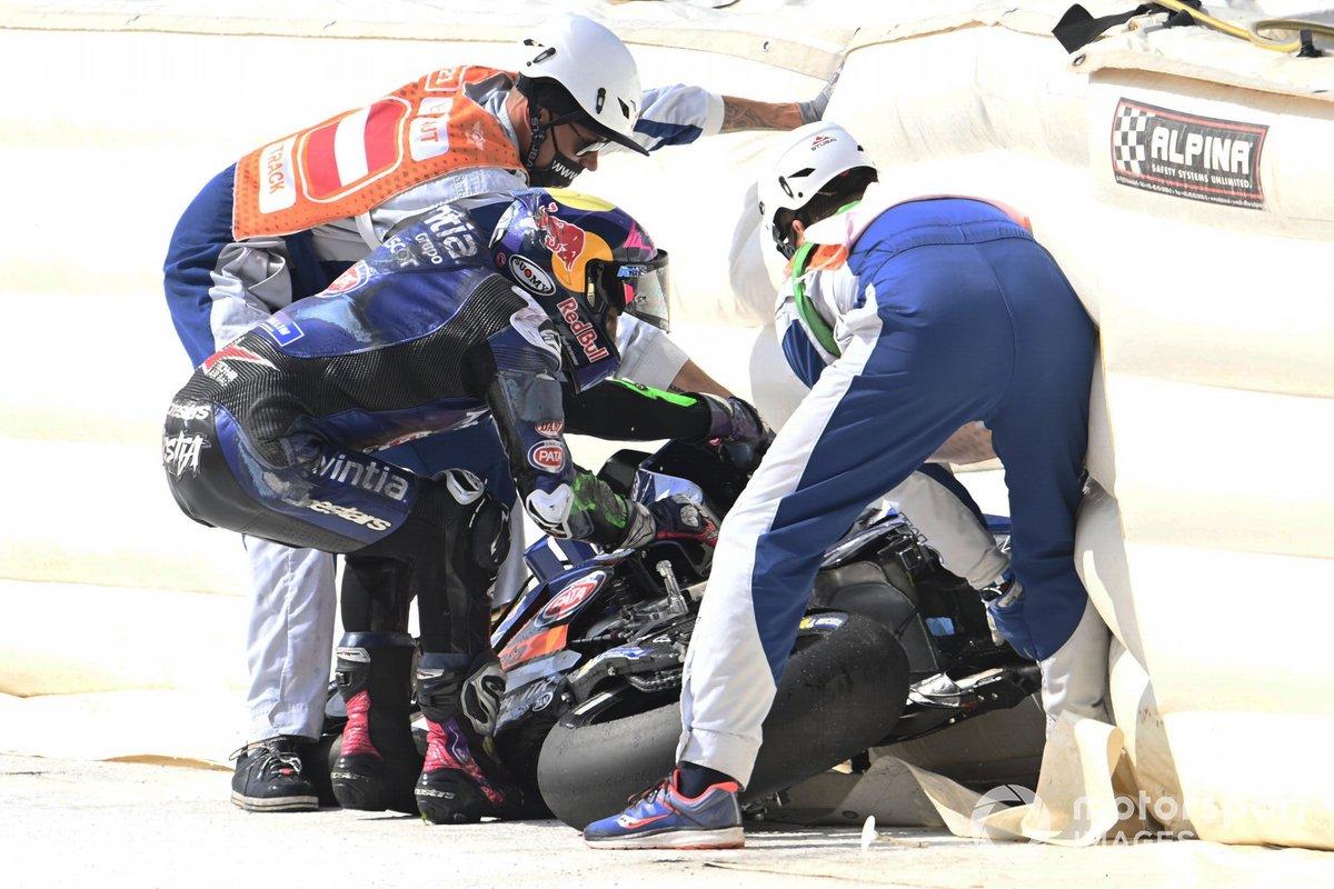 Enea Bastianini, Esponsorama Racing crash