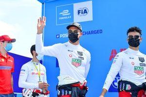 Alex Lynn, Mahindra Racing, Alexander Sims, Mahindra Racing, Andre Lotterer, Porsche, Pascal Wehrlein, Porsche