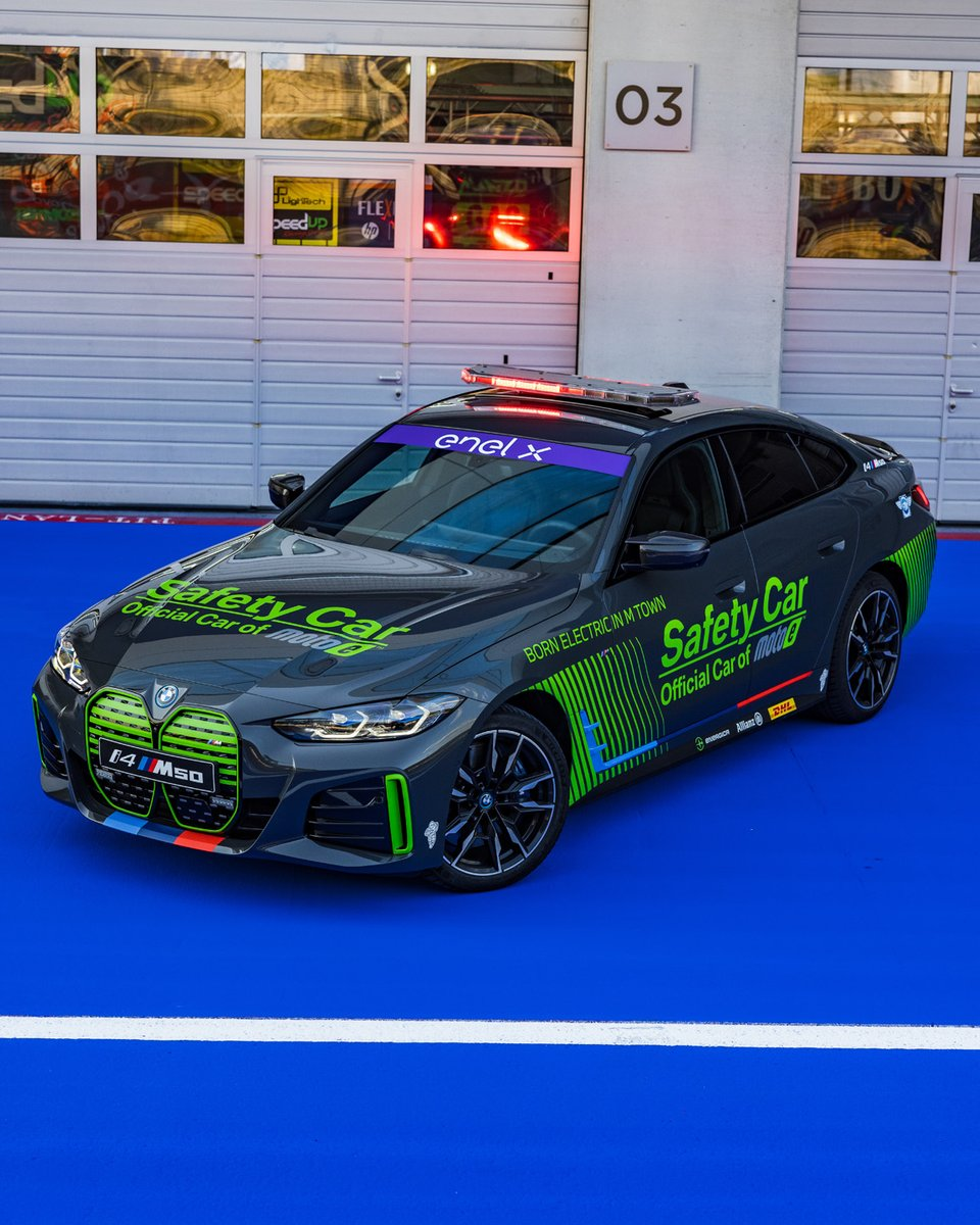 Safety-Car: BMW i4 M50